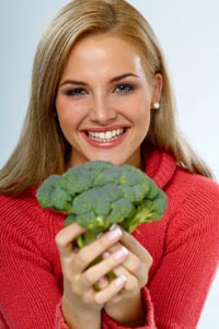 Brocolli - improve your zinc levels