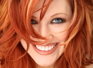 Red Headed Girl Laughing