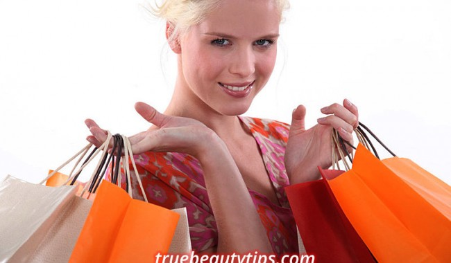 Shopping Addiction - Young woman with shopping bags