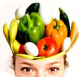 Improve your mind by eating healthy brain food