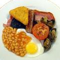 Food Myths - full english breakfast