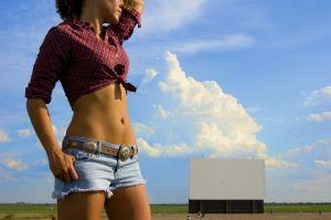 Healthy Skin - a suntanned belly